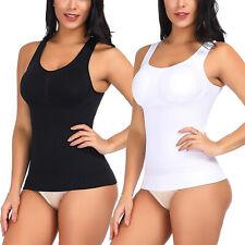 Women's Body Shaper Genie Bra ShapeWear Tank Top Slimmer Waist Trainer Camisole