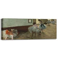 Degas lezione di danza design quadro stampa tela dipinto telaio arredo casa