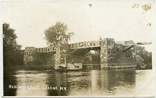 RPPC NY Greene Ferry Boat & Old Aqueduct