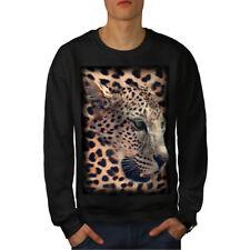 Beast Wild Animal Leopard Men Sweatshirt NEW | Wellcoda