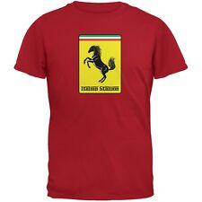 Italian Stallion Red Adult T-Shirt