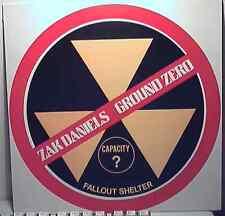 Obscure Hard Rock Mainstream MLP by ZAK DANIELS Ground Zero 1983 Azra Picture