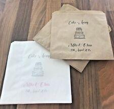 Personalised Wedding & Celebration Cake Bags