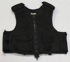 Ex Police Black Highmark Body Armour Cover Tac Vest !COVER ONLY! HMC02