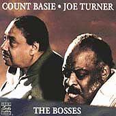 COUNT BASIE & BIG JOE TURNER - The Bosses CD [K120]