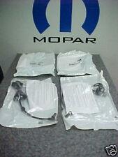 05-06 Chrysler Pacifica New Wheel Speed Sensor Revised Set of 4 Mopar Oem