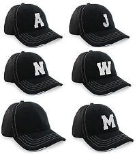 Unisex Men Women Casual Baseball Cap Sport Breathable Mesh  A-Z Alphabet Letter