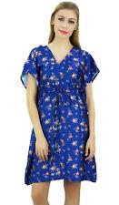 cordon de serrage de demoiselle d'honneur kimono de satin bleu floral couvrir