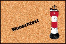 Fußmatte mit Namen Schmutzfangmatte waschbar Gummirand 75x50 cm Maritim