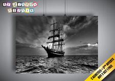 Poster SHIP BATEAU caravelle voilier Wall art