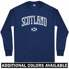 Scotland Long Sleeve T-shirt - Glasgow Edinburgh UK GB Scots - LS - Men / Youth