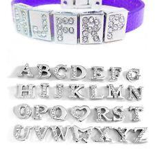 5 pieces Alphabet Letter Zinc Alloy Beads A-Z personalized bracelet for 8mm Cord