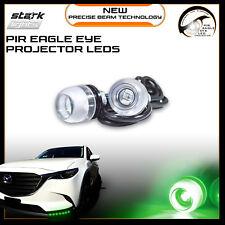 Eagle Eye 18mm Bright Projector PIR 3SMD LED Fog Light DRL Backup Signal - GREEN