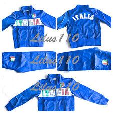 Garçons survetement italie set (football, sports) - âges 4 ans à 14 ans