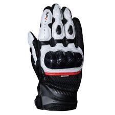 Oxford RP-4 2.0 Mens Short Sports Motorbike Motorcycle Summer Gloves Black White
