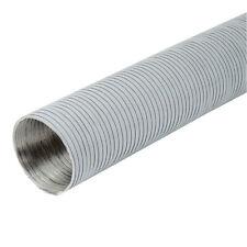 Aluminium Flexrohr Aluflexschlauch Alurohr Lüftungsrohr Lüftungsskanal weiss