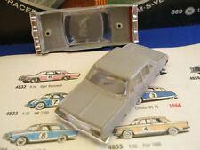 1960s Foreign Faller Opel Diplomat Slot Car Body Gray !