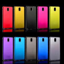 Nuevo Metal Carcasa De Aluminio batería puerta posterior Duro Funda Protectora Skin Para Samsung