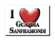 CALAMITA CAMPANIA FRIDGE MAGNET MAGNETE SOUVENIR LOVE GUARDIA SANFRAMONDI (BN)--