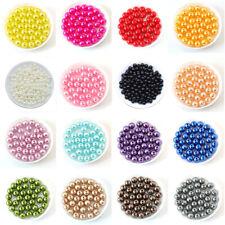 UK Seller Multiple Colours in Stock! 6mm Pearls on String 150 pcs