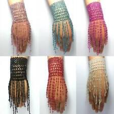 danse orientale tribal Oriental bracelet bracelet collier de Perles Franges