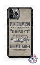 Aeroplane High Flight Acrobatics Custom Phone Case For iPhone Samsung LG Google