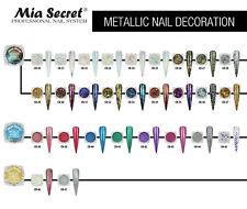 Mia Secret Metallic Flakes Nail Decoration Metallic Flakes Texture  Pick Yours