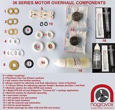 Revox Studer 36 series motors overhaul kit  A36 B36 C36 D36 E36 F36,G36