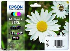 Epson 18XL - T1816 MULTIPACK ORIGINALE OEM Cartucce di Inchiostro (SET 4) B,C,M
