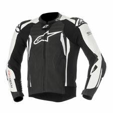 Alpinestars GP Tech V2 Mens Leather Jacket Black/White