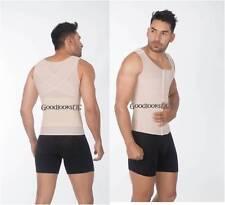 Faja Colombiana Uplady 6097 MenTshirt Posture Corrector Faja para hombre 4 hooks