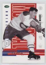 2003-04 Parkhurst Original Six Montreal Canadiens #60 Dickie Moore Hockey Card