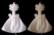 Kerzentuch Kerzenrock Tropfschutz weiß creme zum Kommunionkleid Anzug Taufe neu