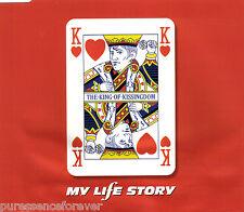 MY LIFE STORY - The King Of Kissingdom (UK 3 Tk CD Single Pt 1)