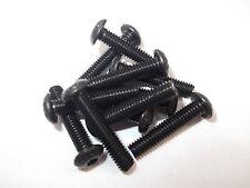 M4 High Tensile Self Colour Button Head Socket Screws FREE P&P