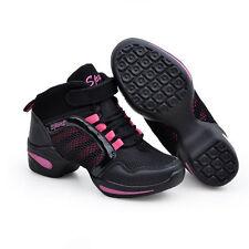 NEW Women Ladies Light Breathable Modern Jazz Hip Hop Dance Shoes Sport Sneakers