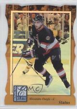 1997-98 Donruss Elite Promos Gold Die-Cut Status 24 Alexandre Daigle Hockey Card