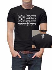 Pledge of Allegiance American Flag T-Shirt, Patriotic T - Merica!