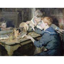 Gli elettricisti-W C Symons Print