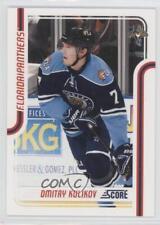 2011-12 Score Glossy #211 Dmitry Kulikov Florida Panthers Hockey Card