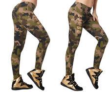 Zumba - Z Army Zumba Jeggings - Army Green - sz Large, XL, XXL ~ New!
