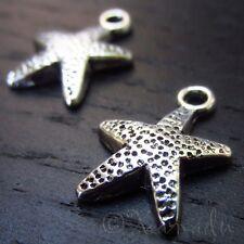 Starfish Wholesale Ocean Nautical Charm Pendants C1526 - 20, 50 Or 100PCs
