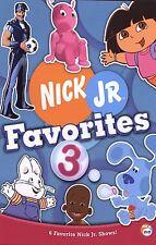 Nick Jr. Favorites - Vol. 3 (DVD, 2006, Checkpoint)