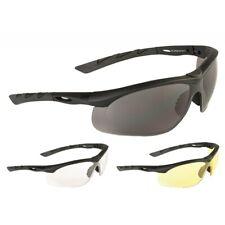 TACT. BRILLE SWISS EYE® LANCER Schutzbrille Outdoor Security smoke gelb klar
