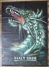White Dragon - Jerzy Domaradzki, Janusz Morgenstern - Polish Poster - Pagowski