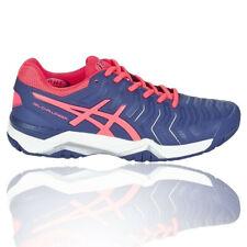 Asics Gel Challenger 11 Mujer Violeta Tenis Deporte Zapatos Zapatillas Correr