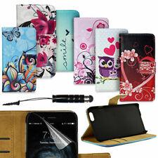 Handy Tasche für Apple iPhone Flip Cover Case Schutz Hülle Etui Motiv Wallet