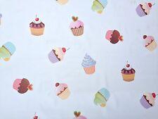 PVC TOVAGLIA Cupcake Tè Fata Torta Glassa Cherry Bianco pulire in grado di copertura