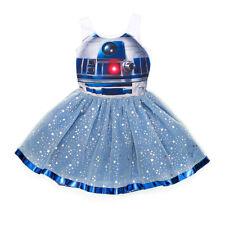 BNWT Girls Geniune Disney Store R2-D2 Tutu Fancy Dress Costume