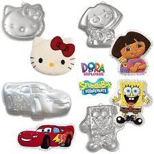 Molde aluminio bizcocho Hello Kitty Dora Exploradora Bob Esponja Rayo McQueen